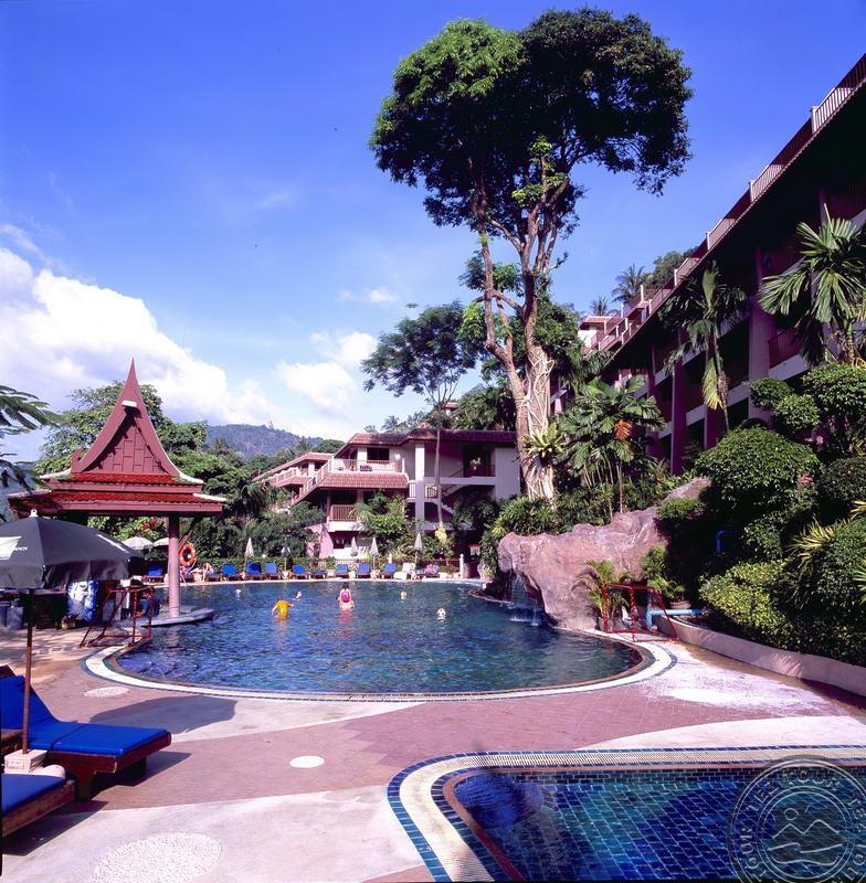 chanalai flora resort 4 **** тез тур Kata Group - Kata Beach Resort, Karon Beach Resort, Phuket.